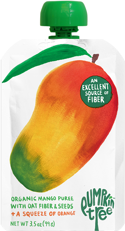 Pumpkin Tree Mango pouch