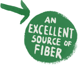 An excellent source of fiber